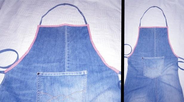 tablier en jean